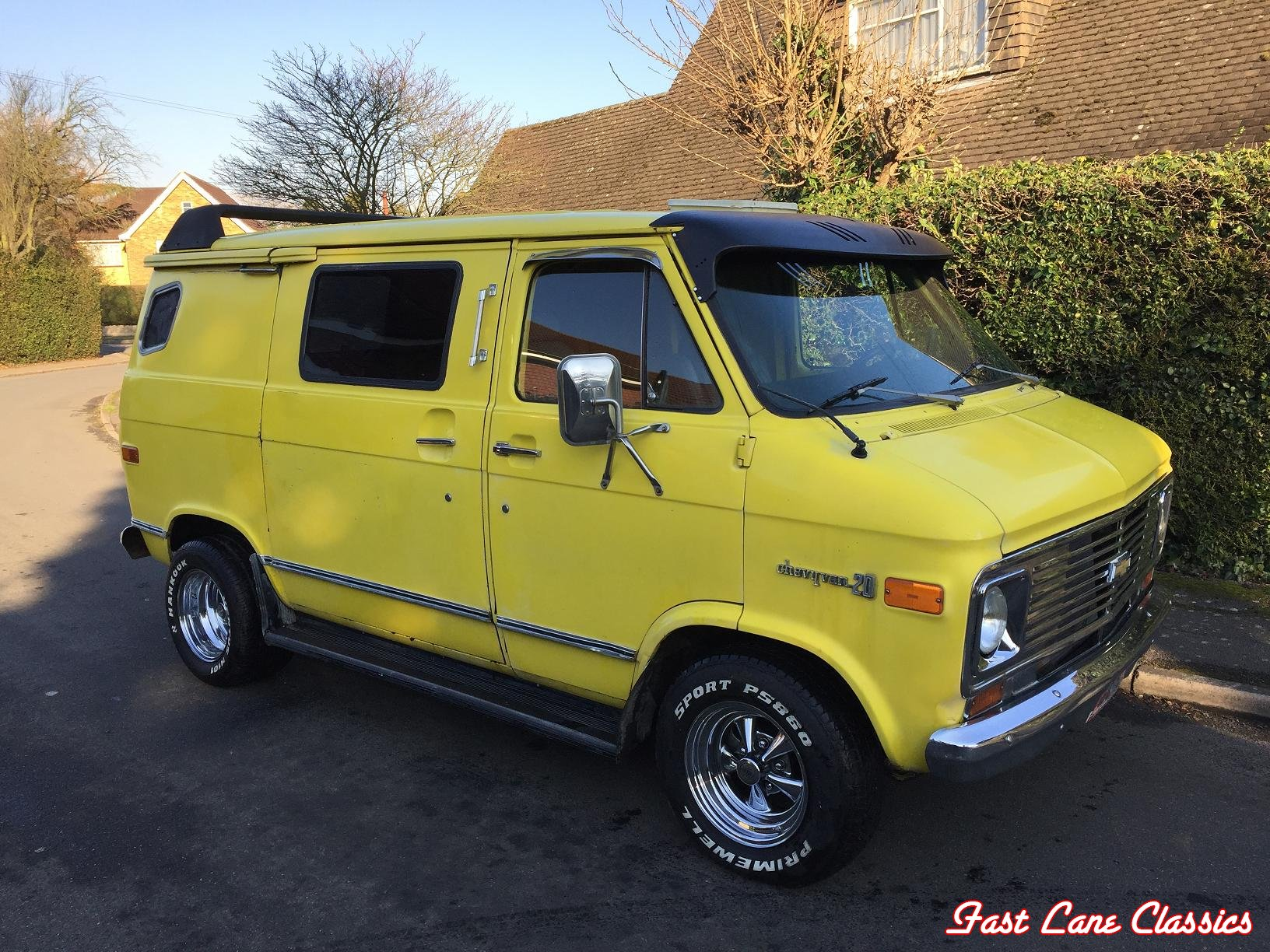 1976 chevy g20 shorty van sold fast lane classics. Black Bedroom Furniture Sets. Home Design Ideas