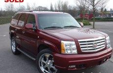 03 Cadillac Escalade