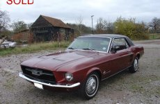 67 Mustang Coupe