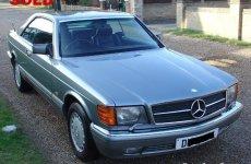86 Mercedes 500sec