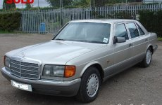 86 Mercedes Barnfield