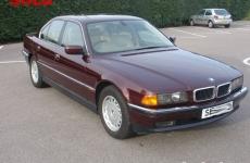 98 BMW 735
